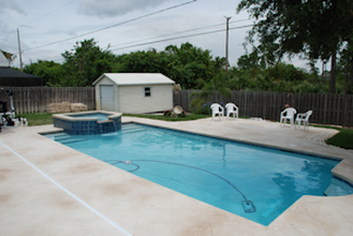 Swimming pool construction odom custom pools - How soon can you swim after plastering pool ...
