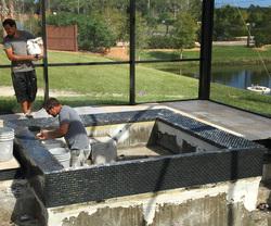 Swimming Pool Construction Odom Custom Pools